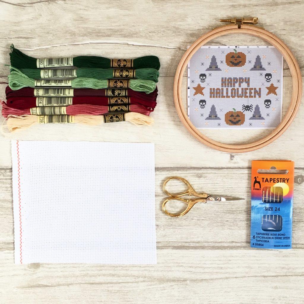 Galaxy Unicorn Needle Minder For Cross Stitch// Embroidery